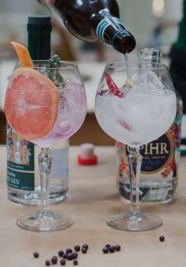 Gin Tastings for Corporate Events